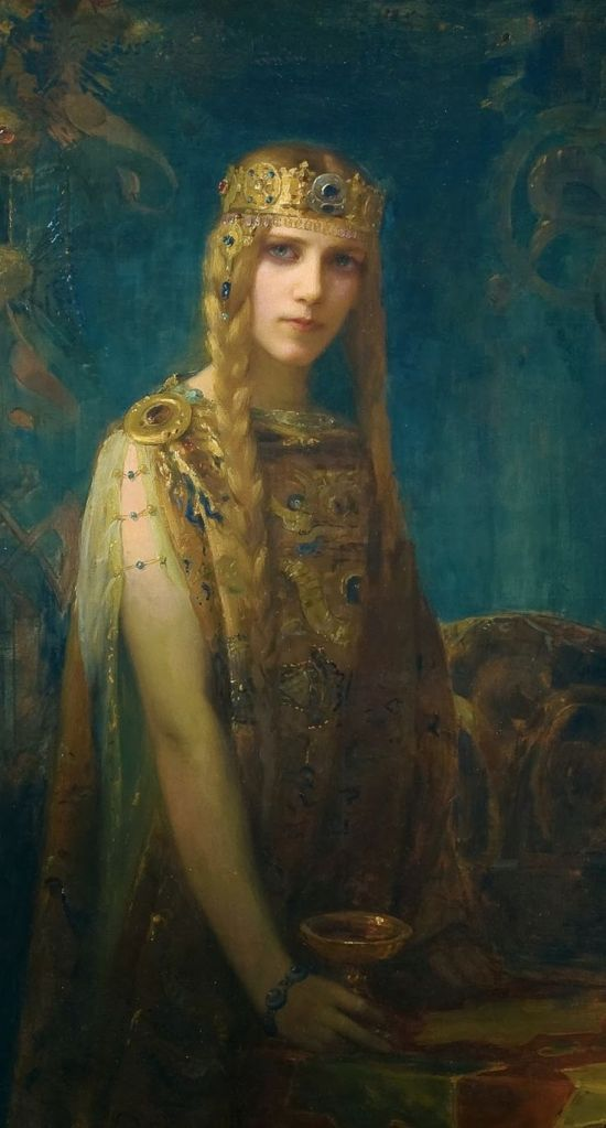 Isolde by Gaston Bussière
