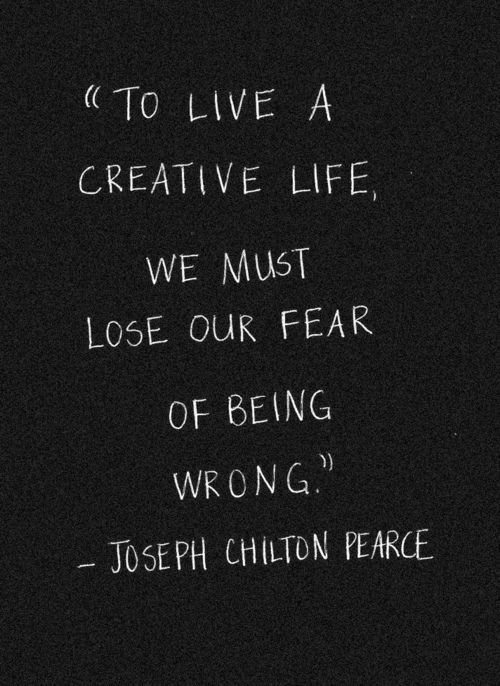 lose fear