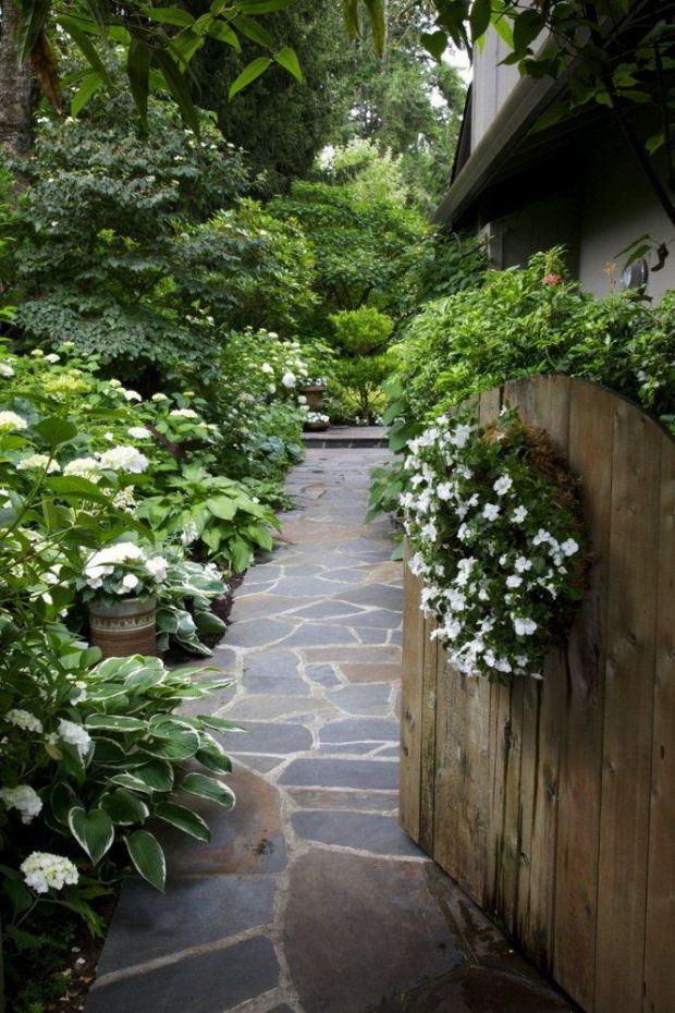 lush oregon garden