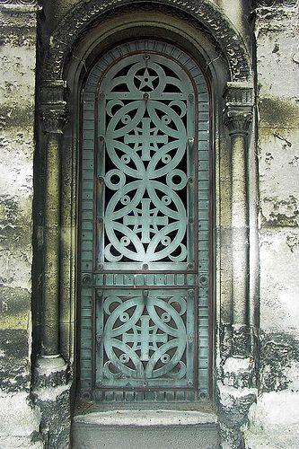 Porte de caveau by ferlosio