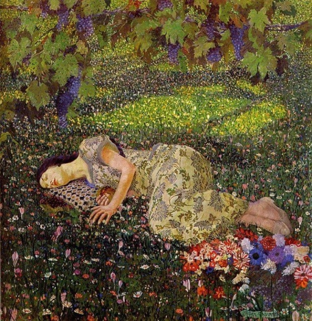 sleeping_Klimt