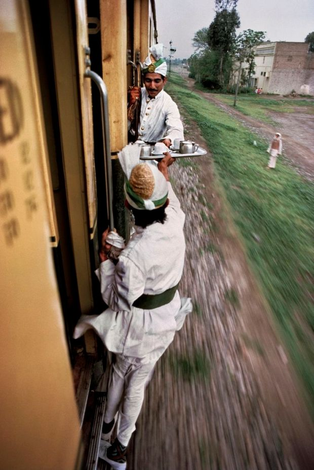 tea on the train in India