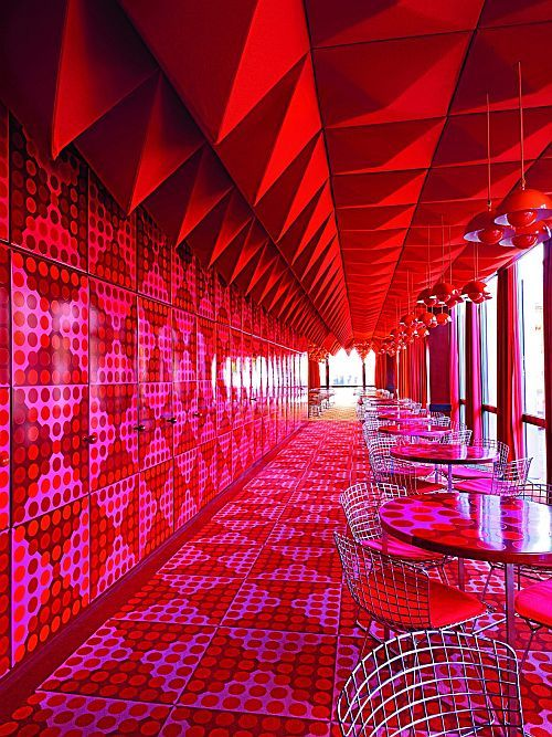 The Spiegel Canteen in Hamburg, Germany
