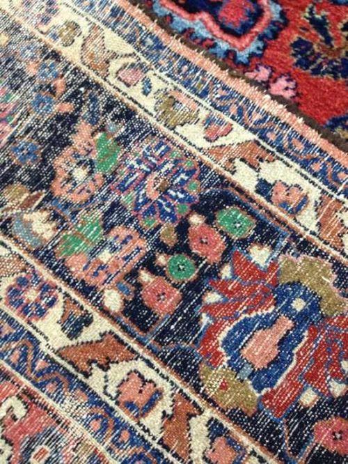 threadbare rug