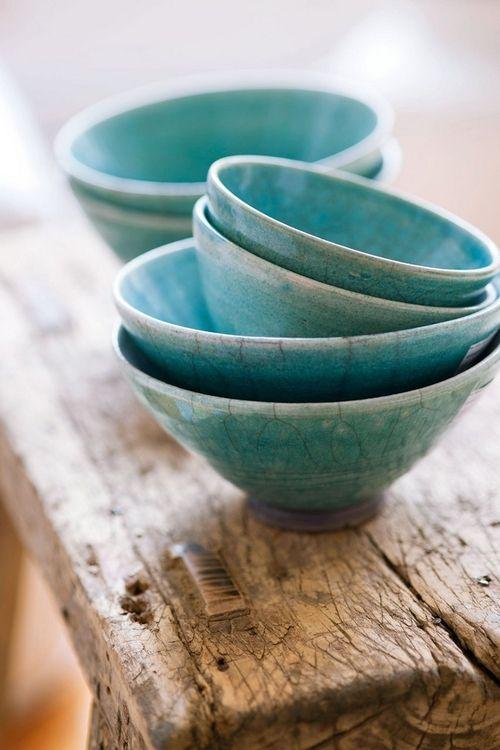tourquoise bowls