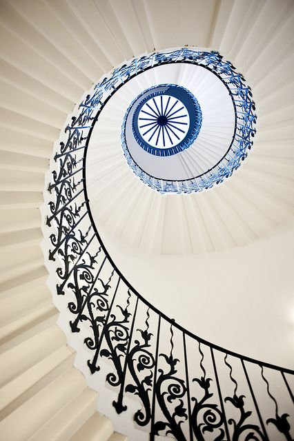 Tulip Stairs, Greenwich - 7896 by Michael Sissons