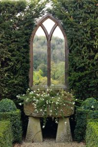 window in the garden