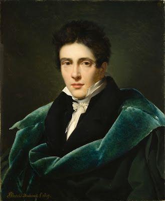 Alexandre-Jean Dubois-Drahonet, Portrait of Monsieur Gest, 1819