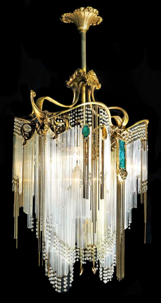 Chandelier by Hector Guimard
