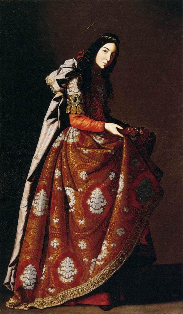 Francisco de Zurbarán, Saint Casilda, c. 1630
