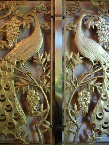 golden peacocks