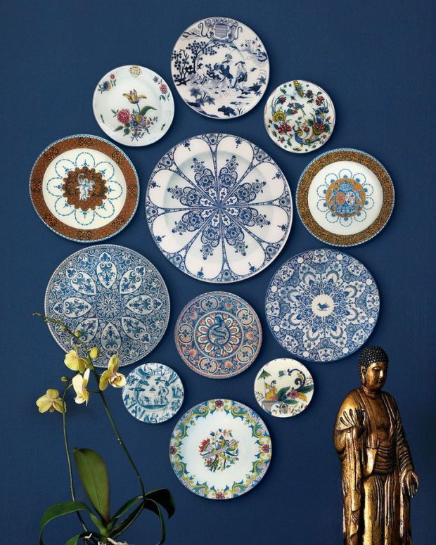 Handcrafted decorative plates by John Derian