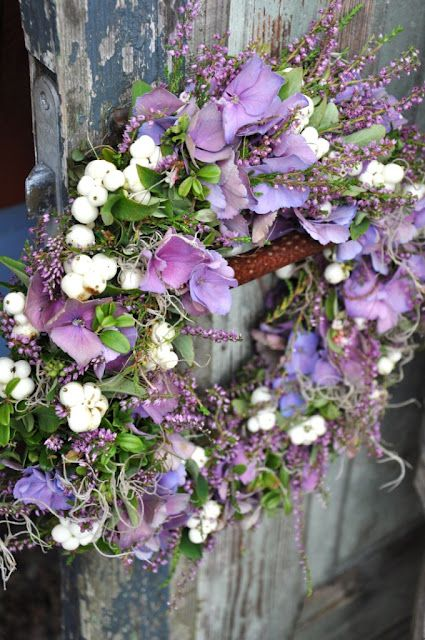 lavendar wreath
