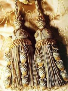 ornate tassles