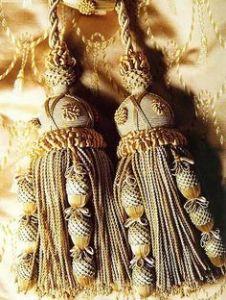 ornate tassles