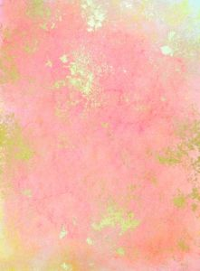 pink and gold foil
