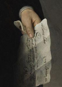 Portrait of Marten Looten (detail)_Rembrandt van Rijn