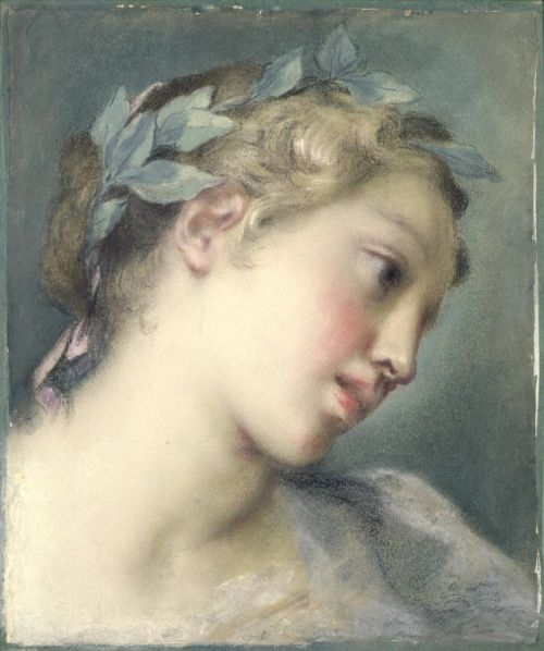 Rosalba Carriera A muse mid-1720s