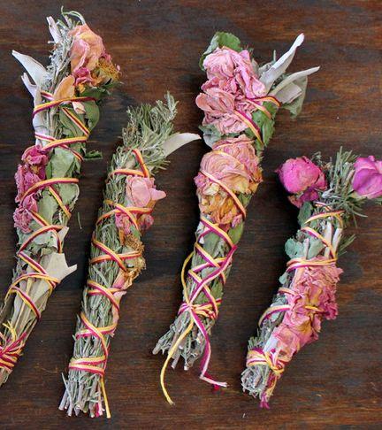 Sage and rose bundles