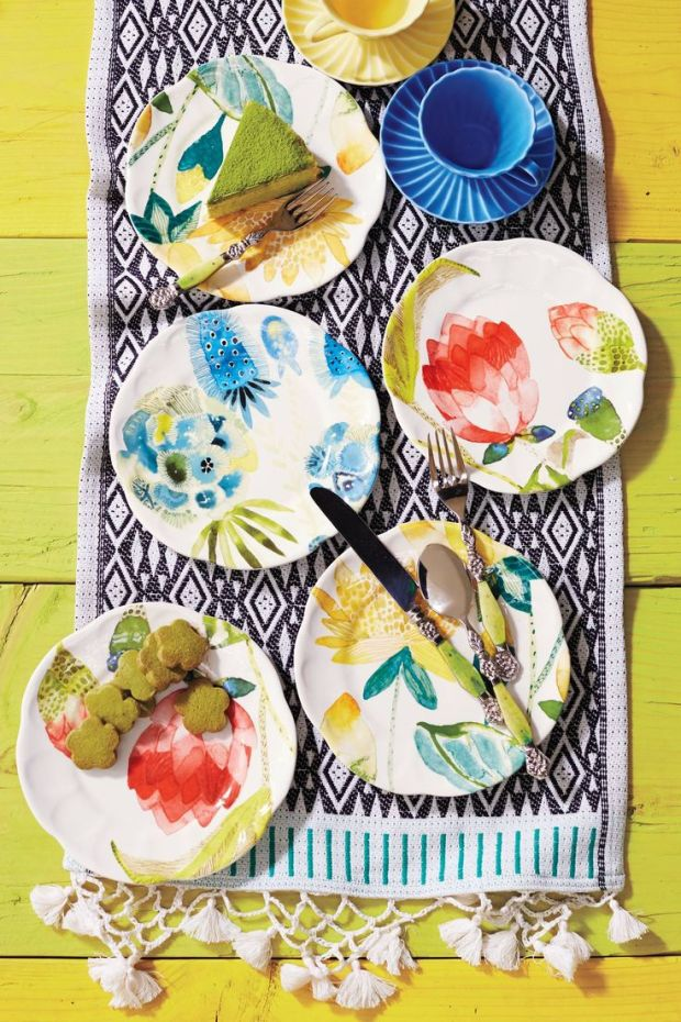 tablescape by anthropologie
