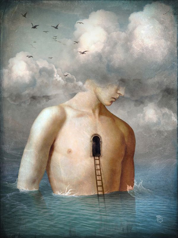 The door to the clouds by Christian Schloe
