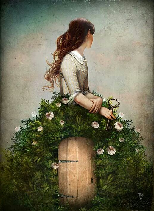 The Key to her Secret Garden by Christian Schole