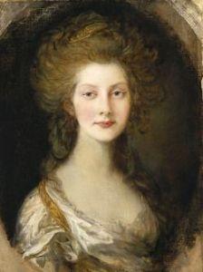 Thomas Gainsborough - Princess Augusta (1782)