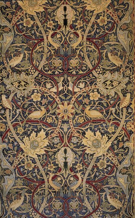 William Morris, Bullerswood carpet (detail)