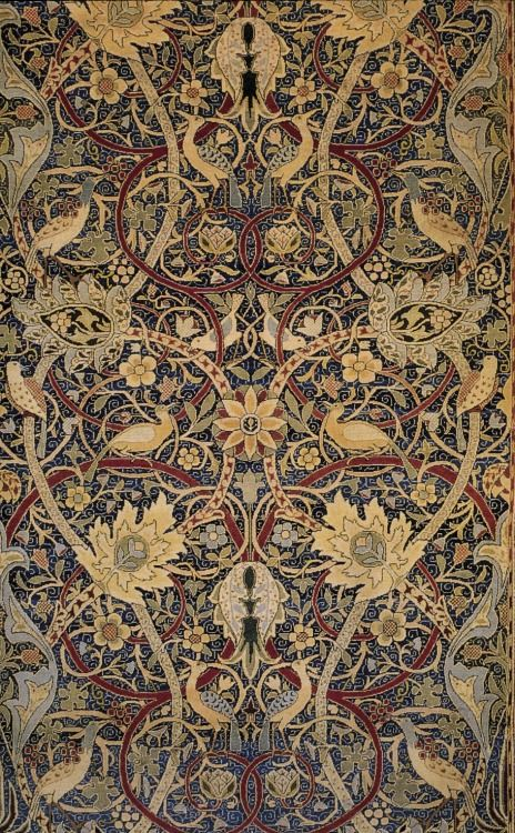 William Morris, Bullerswood carpet (detail)
