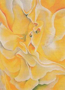 Yellow Sweet Peas_Georgia O'Keefe