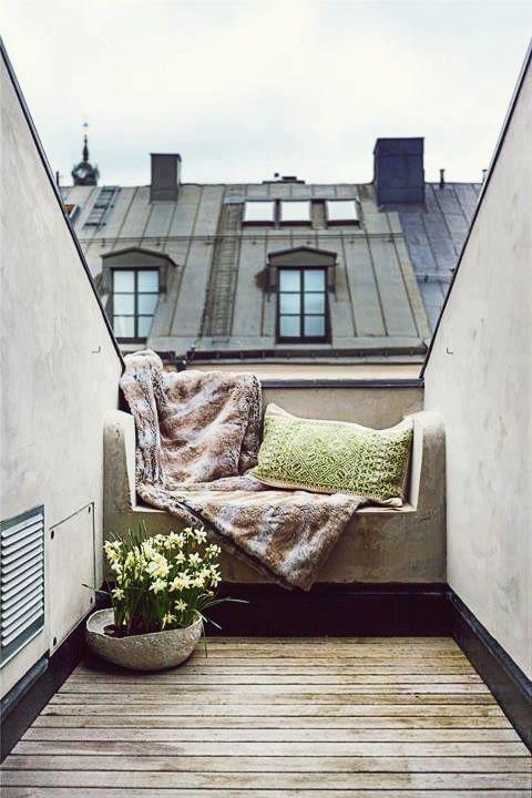 a cozy space