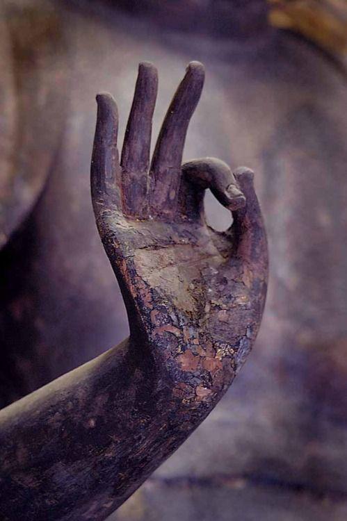 ancient hand
