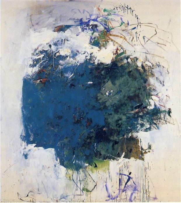 Cerulean Blue Tree by Joan Mitchell