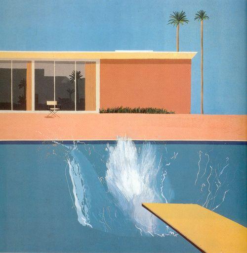 David Hockney A Bigger Splash 1967