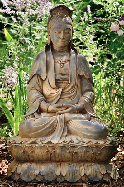 kwan yin happy buddha breathing. Black Bedroom Furniture Sets. Home Design Ideas