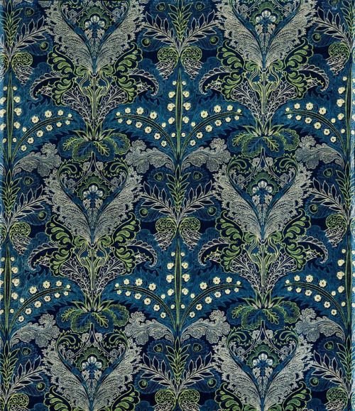 Lewis Foreman Day, Upholstery fabric, 1880