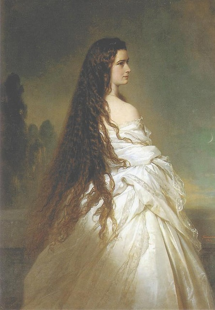 Portrait of Sissi, by Winterhalter by golondrina411