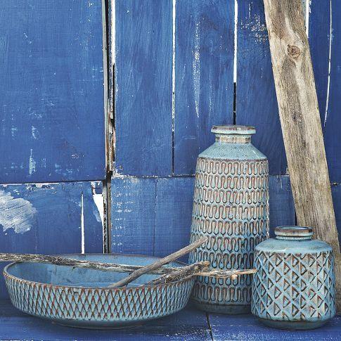 subtle blue patterns