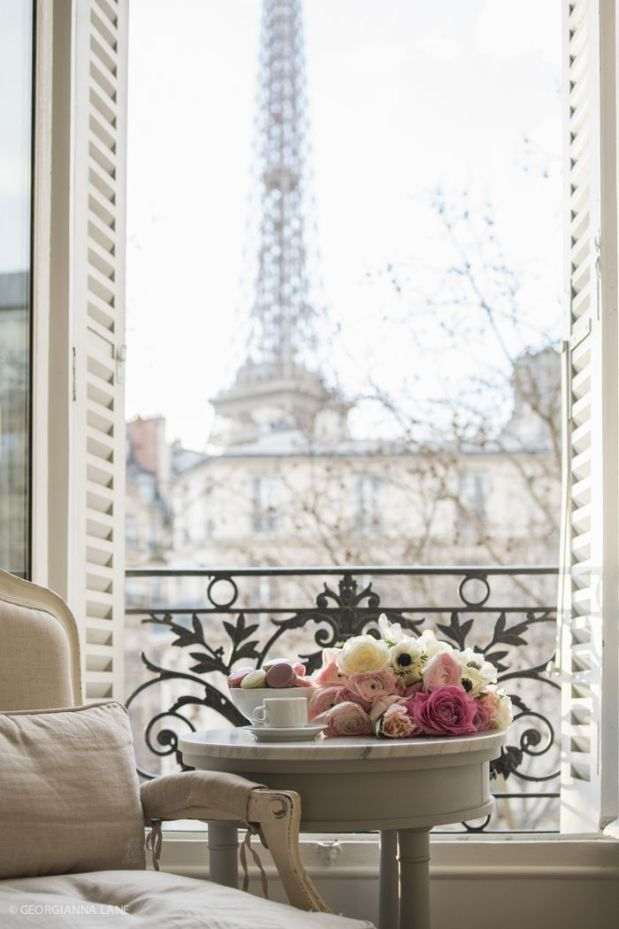 sweets and roses in paris