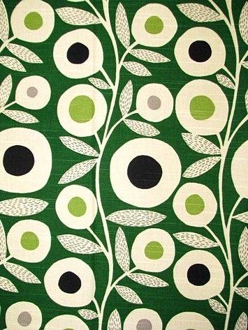 vintage green fabric