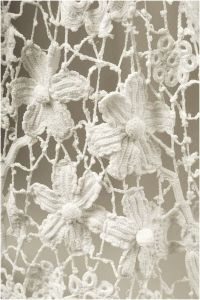 white floral texture