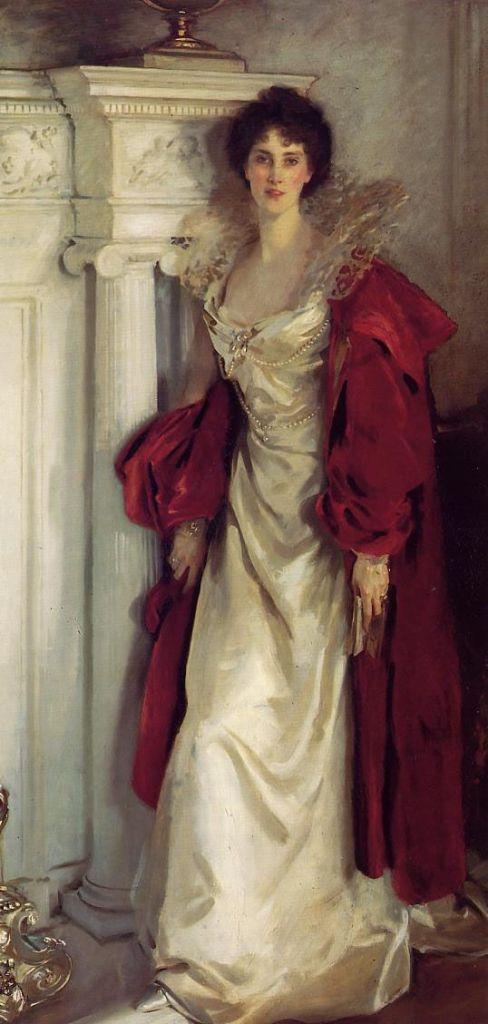 Winifred, Duchess of Portland by John Singer Sargent