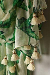 palm print tassels