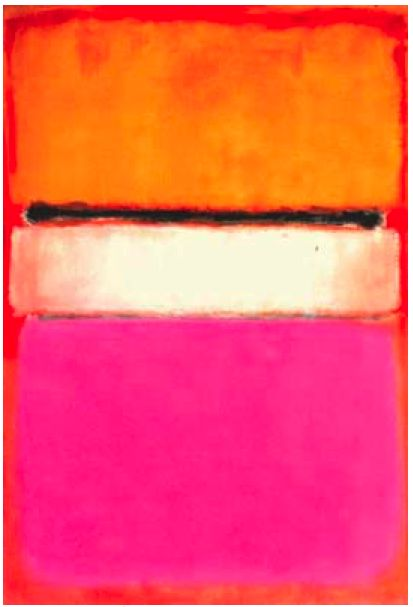 White Center by Mark Rothko