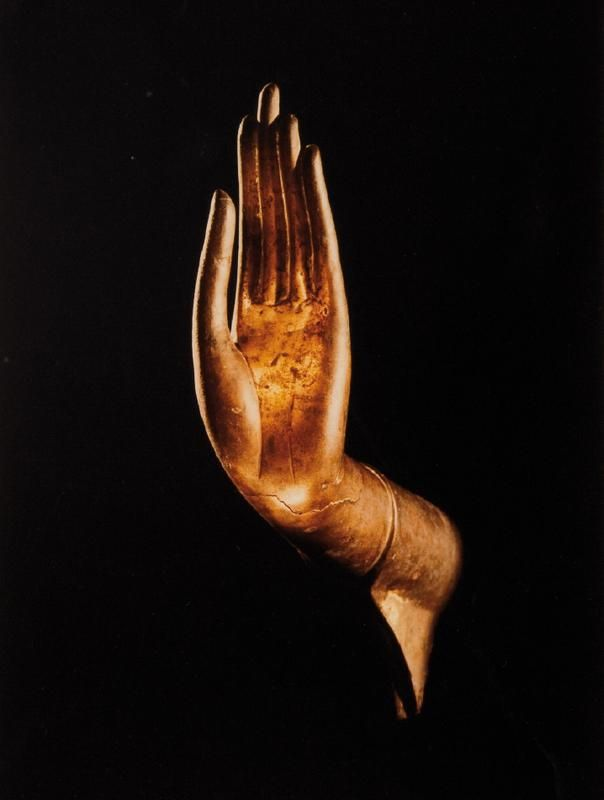 Buddha Hand at National Museum of Gampeng Pet, Thailand