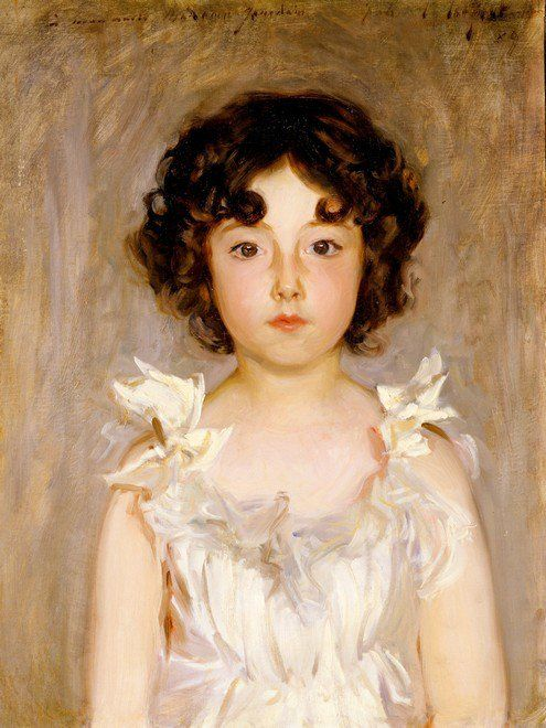 John Singer Sargent, Mademoiselle Jourdain, 1889, oil on canvas, the Clark