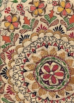 kantha embroidery method