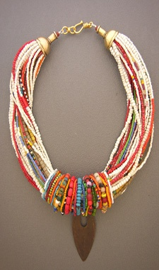 Necklace by Anne Holland