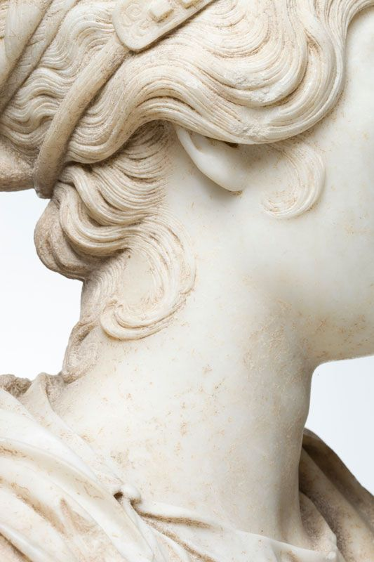 Portrait Bust of a Woman (detail) Photo by Erika Dufour
