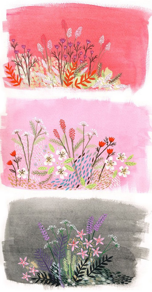 pretty florals by Lee May Foster-Wilson of Bondbi Forest